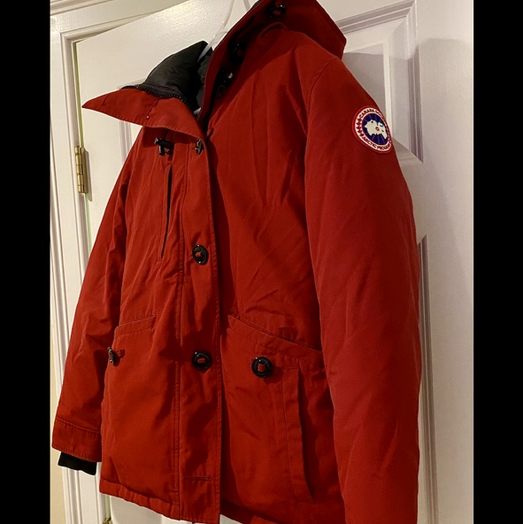 Product Image 1 - Like new, red Canada Goose