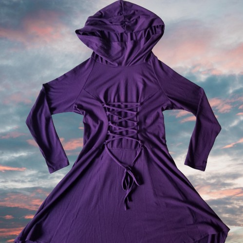 Product Image 1 - renaissance lace up hooded pullover