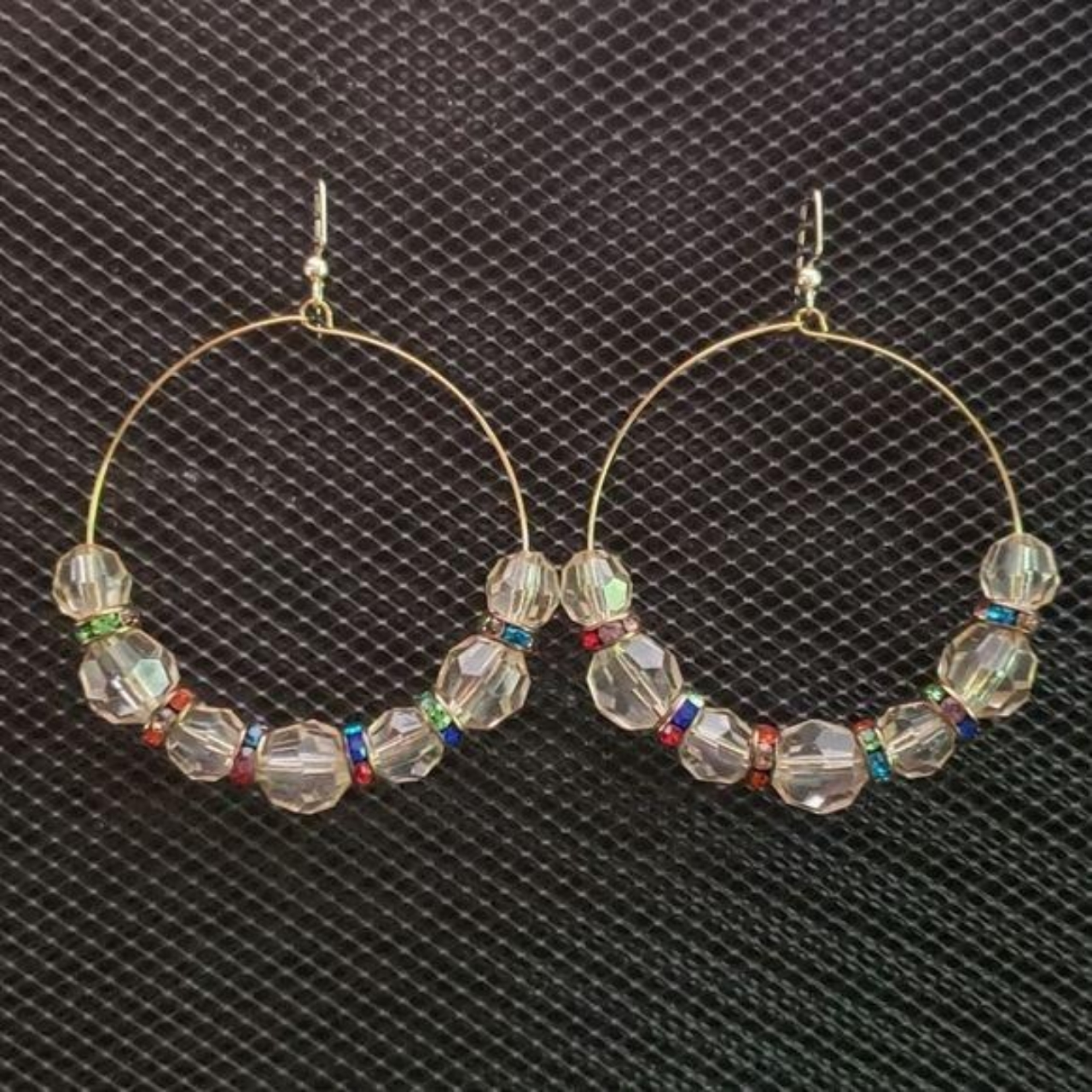 Product Image 1 - Gold hoop earrings with pale