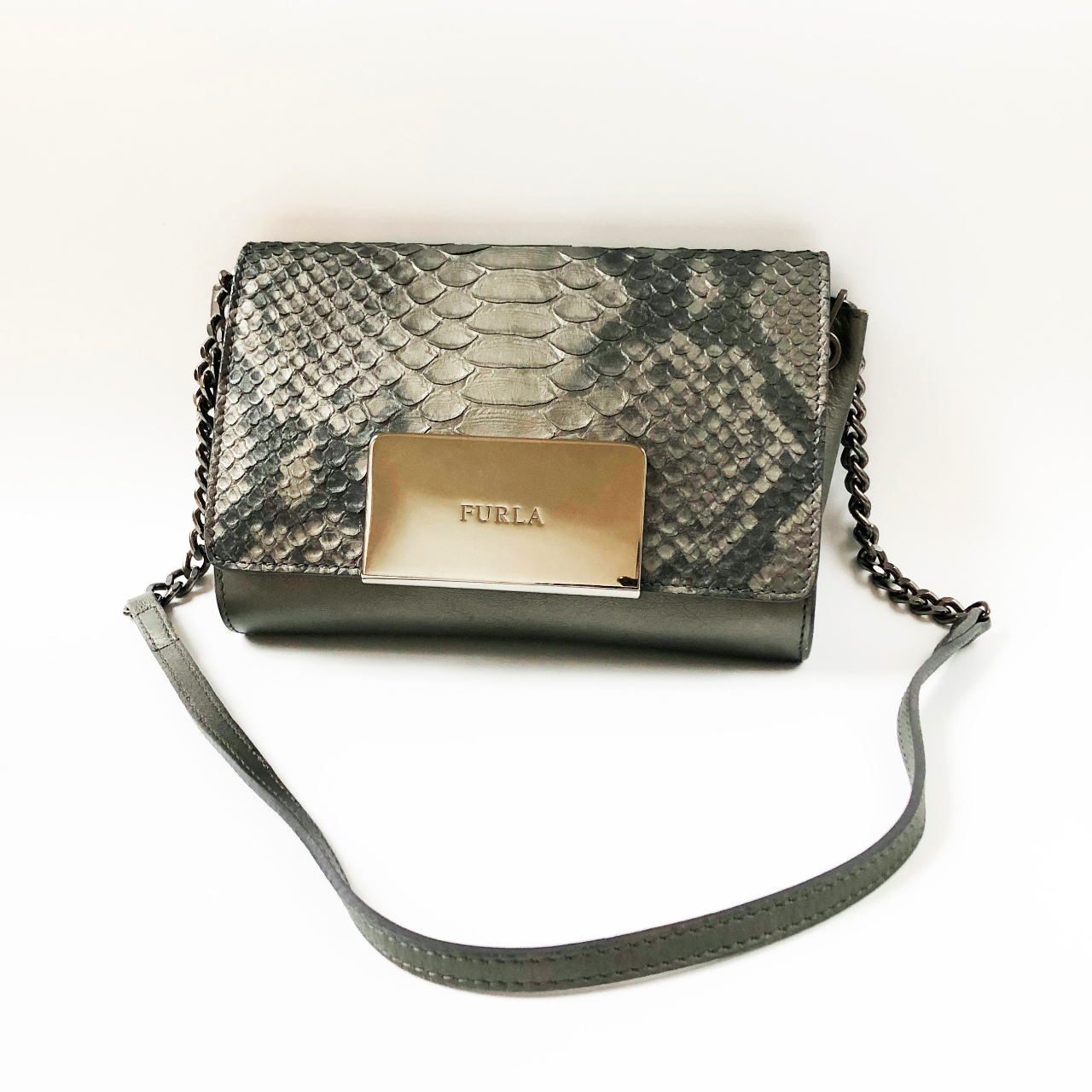 Product Image 1 - Small reptile leather purse bag,