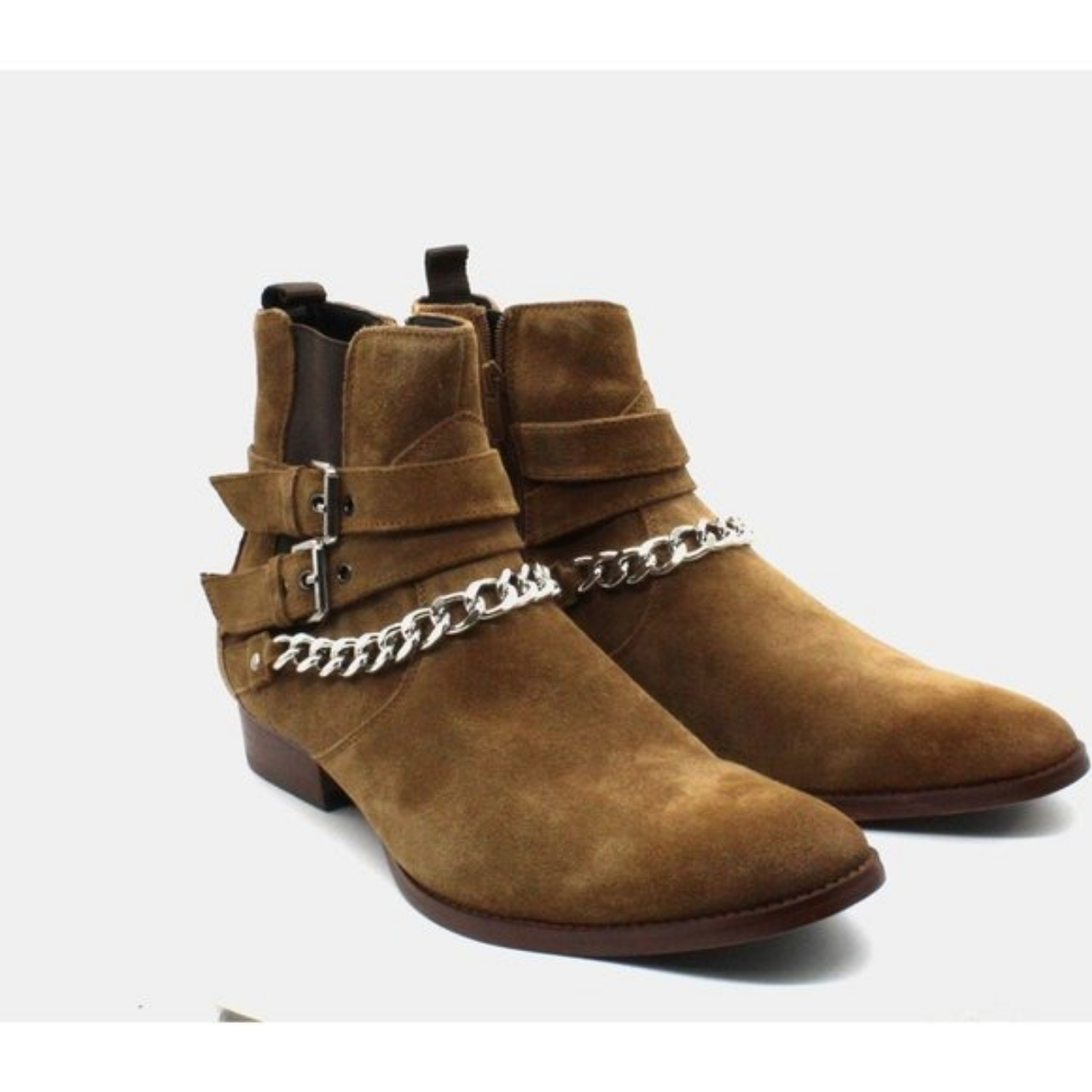 Product Image 1 - Inc Dusty Buckle-Chain Boots  Buckled straps