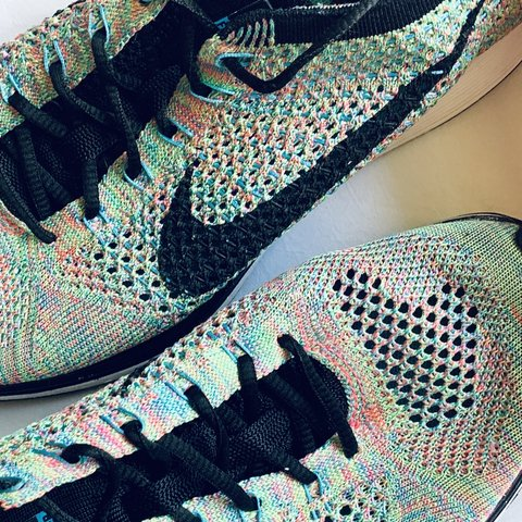 c0ffc04971d @johnbrousseau. 23 days ago. East Falmouth, United States. Nike Flyknit  Racer Multicolor Color: Multi/Black