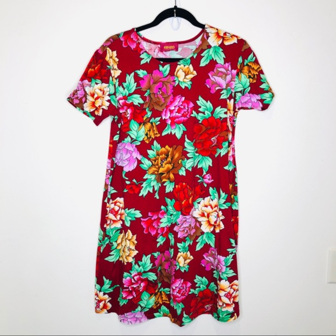 Product Image 1 - #KENZO Floral Jersey T-Shirt Mini