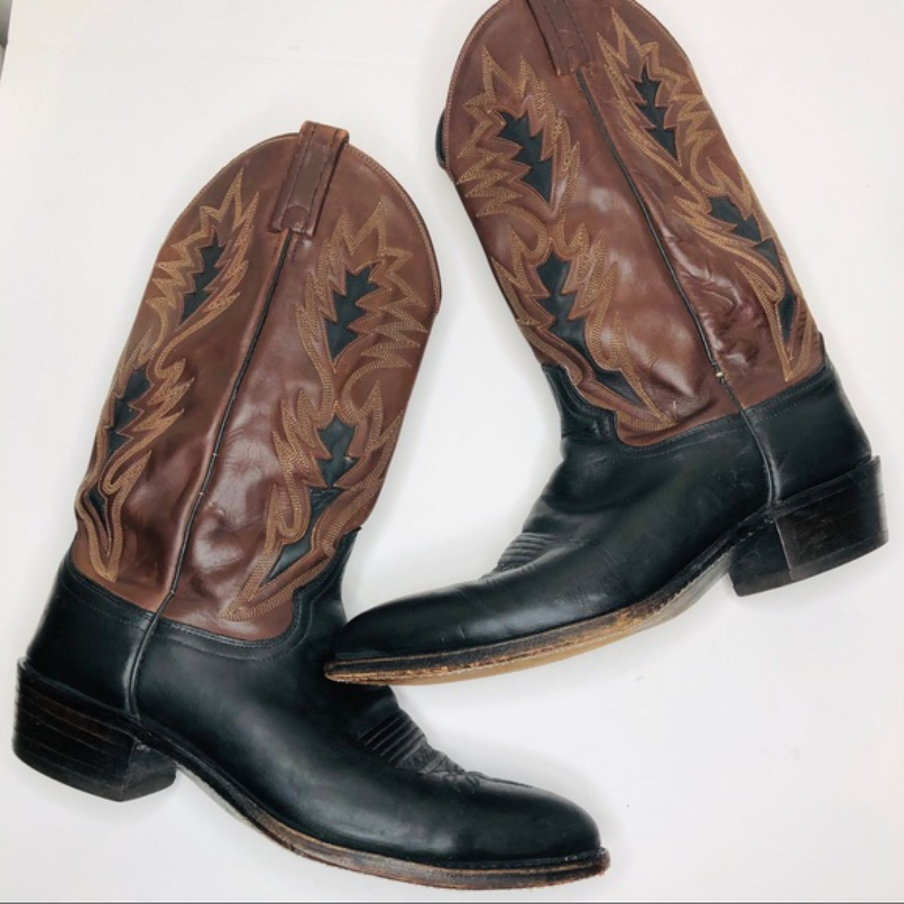 Product Image 1 - DAN POST Leather Western Cowboy