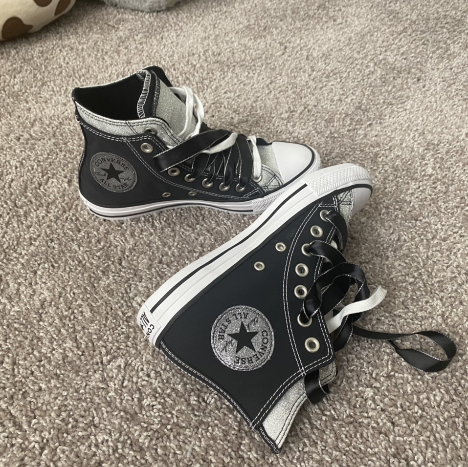 Product Image 1 - Converse double layers high tops