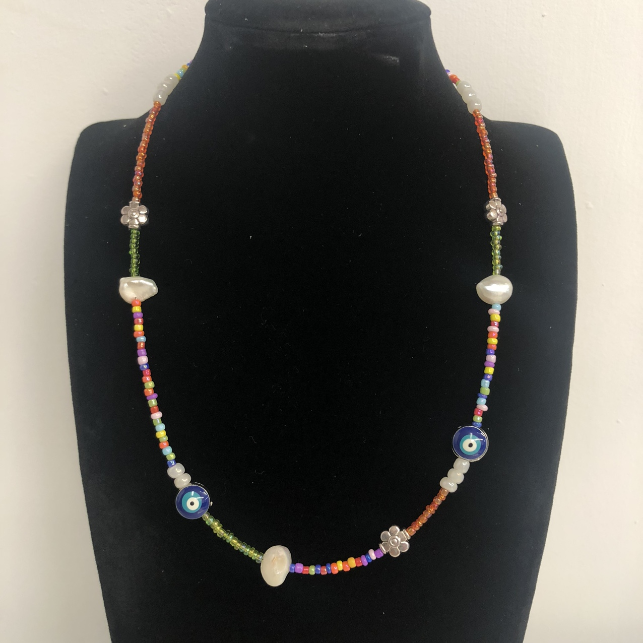 Product Image 1 - Seed Bead Princess Length Necklace