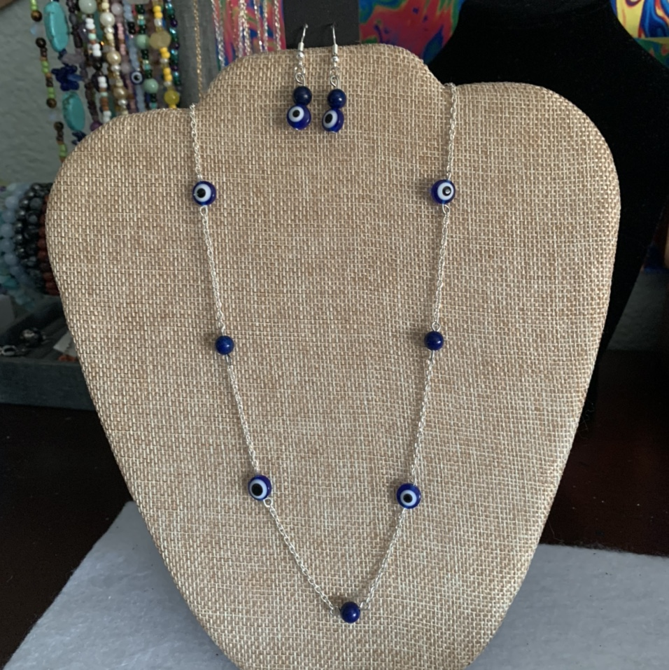 Product Image 1 - evil eye chain necklace with