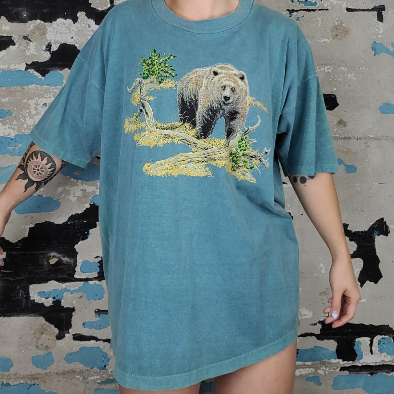 Product Image 1 - Anvil Pigment Dyed vintage Bear