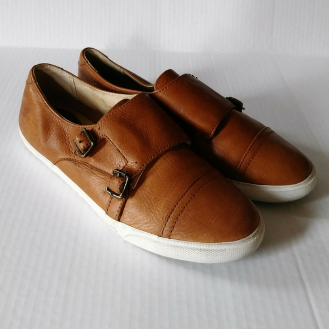 Product Image 1 - Frye Mindy Monk tan leather
