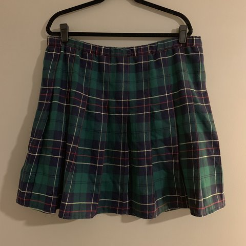 262d6f3aab Super cute school girl skirt. Women's size 16. The waist is - Depop