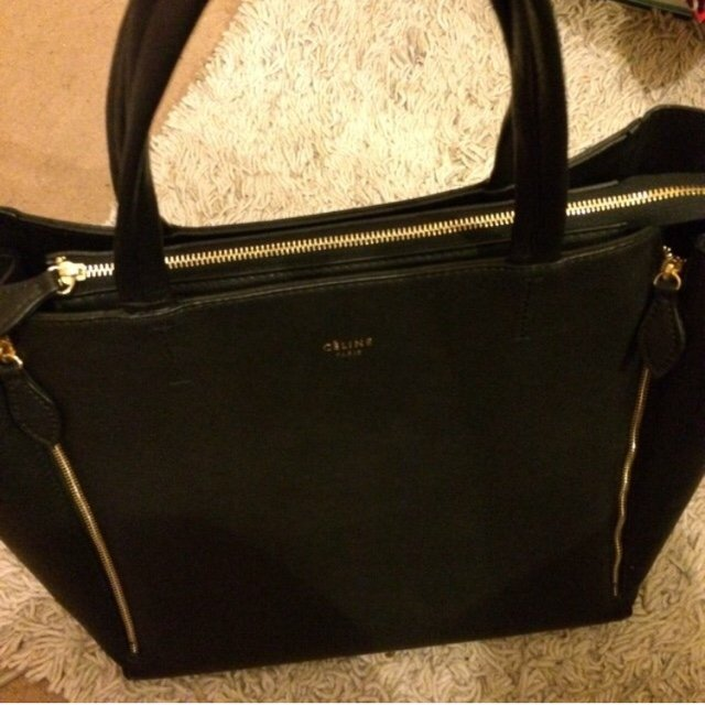 c80038952d Celine replica shopping bag with zips. ...