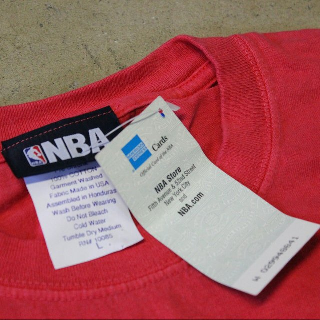 The NBA Store is a chain that sells basketball products that help fans identify with any team playing in the NBA. Customers love the fact that they can buy jerseys and footwear with the favorite team's name to show their support.