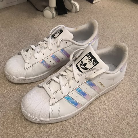 Holographic Superstar 5Near Depop Perfect Adidas TrainersSize zUVpSM