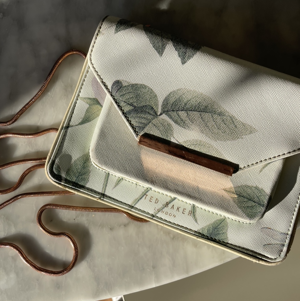 Product Image 1 - TED BAKER CROSSBODY FLORAL BAG This