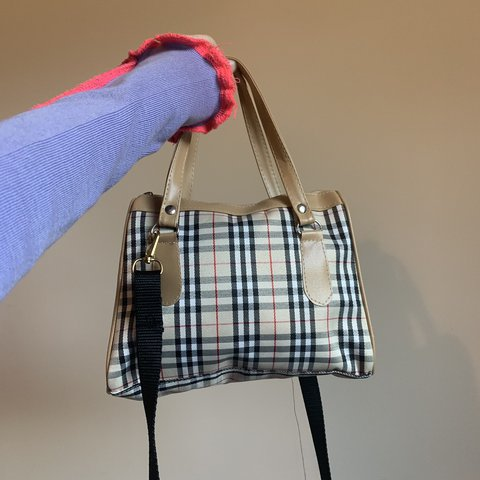 c93cf5fe4a @marcusmccullough. 4 days ago. Antrim, United Kingdom. Cutest mini Burberry  nova check bag