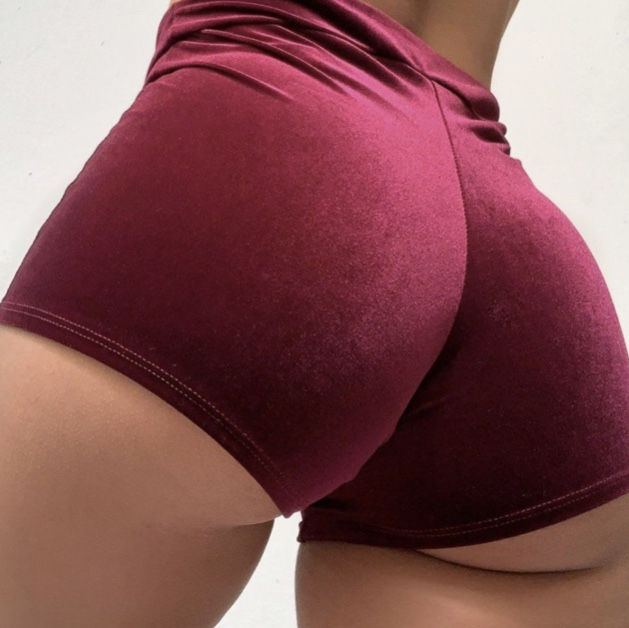 Ass in booty shorts pics