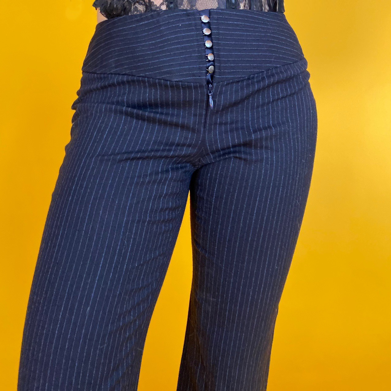 Product Image 1 - Early 2000's low rise pinstripe