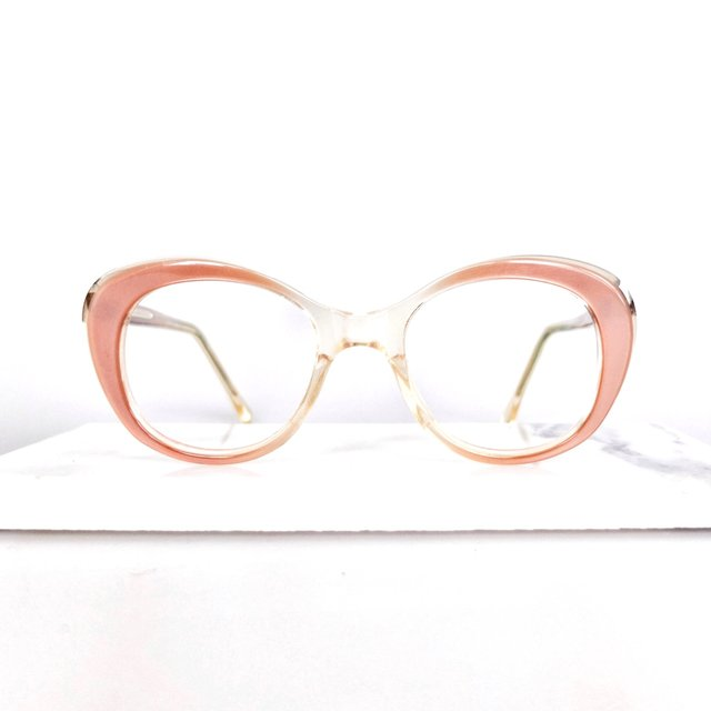 Beautifully shaped early 1960s cat eye ... Modern ...