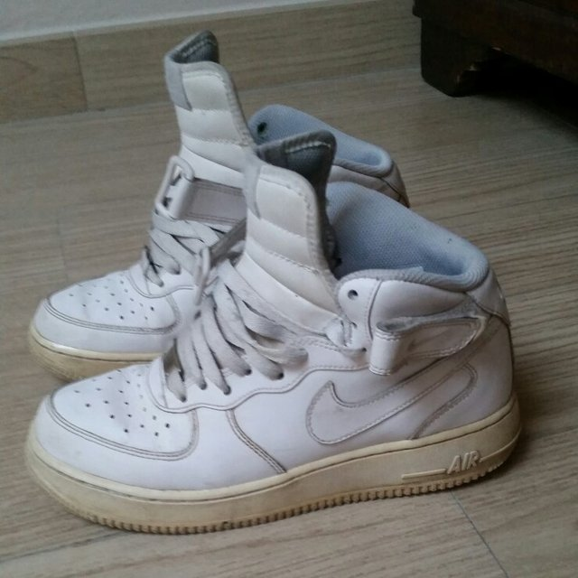 nike air force bianche usate e nuove