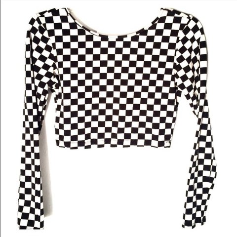 e614d41ef8a @lettybobetty. 6 days ago. New York, United States. Checkered long sleeve  crop top