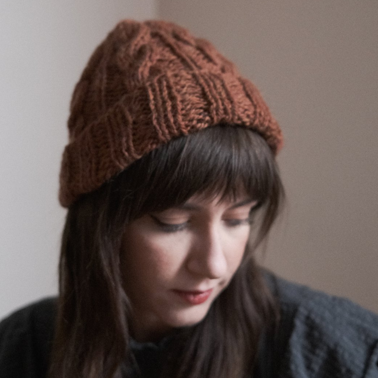 Product Image 1 - Handmade Cable Knit Beanie. Handmade