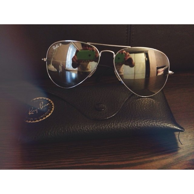 5737e0a415357 Ray Ban Aviator Sunglasses Black Frame Mirror Lens