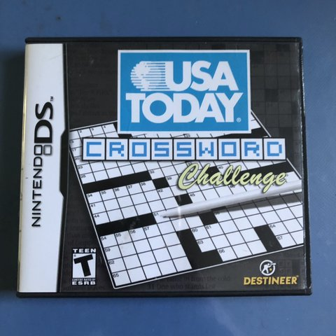 graphic relating to Usa Today Crossword Printable named Detailed upon Depop as a result of gaallen