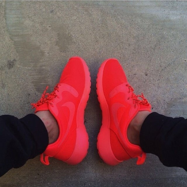 Nike Roshe Run Crimson Red. Hyperfuse Yeezy Red October. These shoes