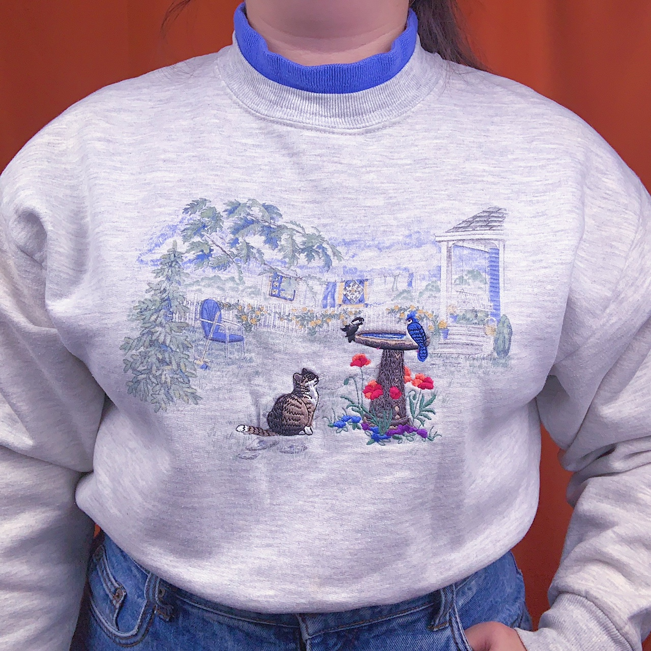 Product Image 1 - Vintage cottagecore sweater with cute