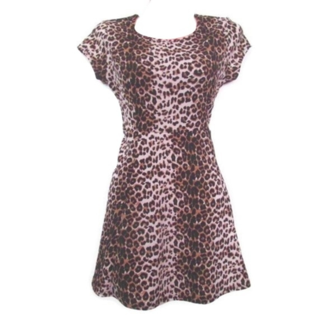 Product Image 1 - nwt leopard print skater dress