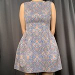 fa8d491b392 Alexa Chung for AG denim dress. Worn once only. Stitched the - Depop