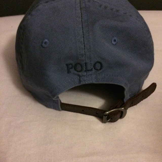 used ralph lauren polo cap with leather strap - WörterSee Public ... 63f398daeb8