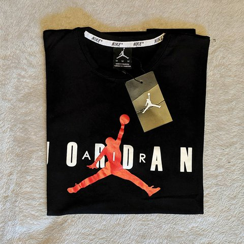 2588c5acf4a @aichatherese. yesterday. Greater London, United Kingdom. Nike Air Jordan's  Medium sized T-shirt. Brand new ...
