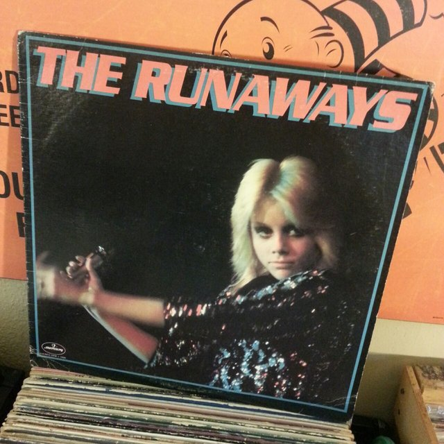 Vintage Records The Runaways Vinyl Record The