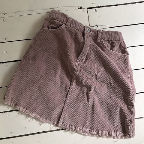 bef4e1d034 @lovedie. 5 days ago. United Kingdom. Brandy Melville Dusty pink corduroy  mini skirt .
