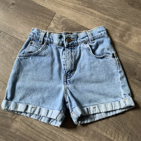 fc4f71455bf Vintage levis kids shorts. Not sure if this could actually a - Depop