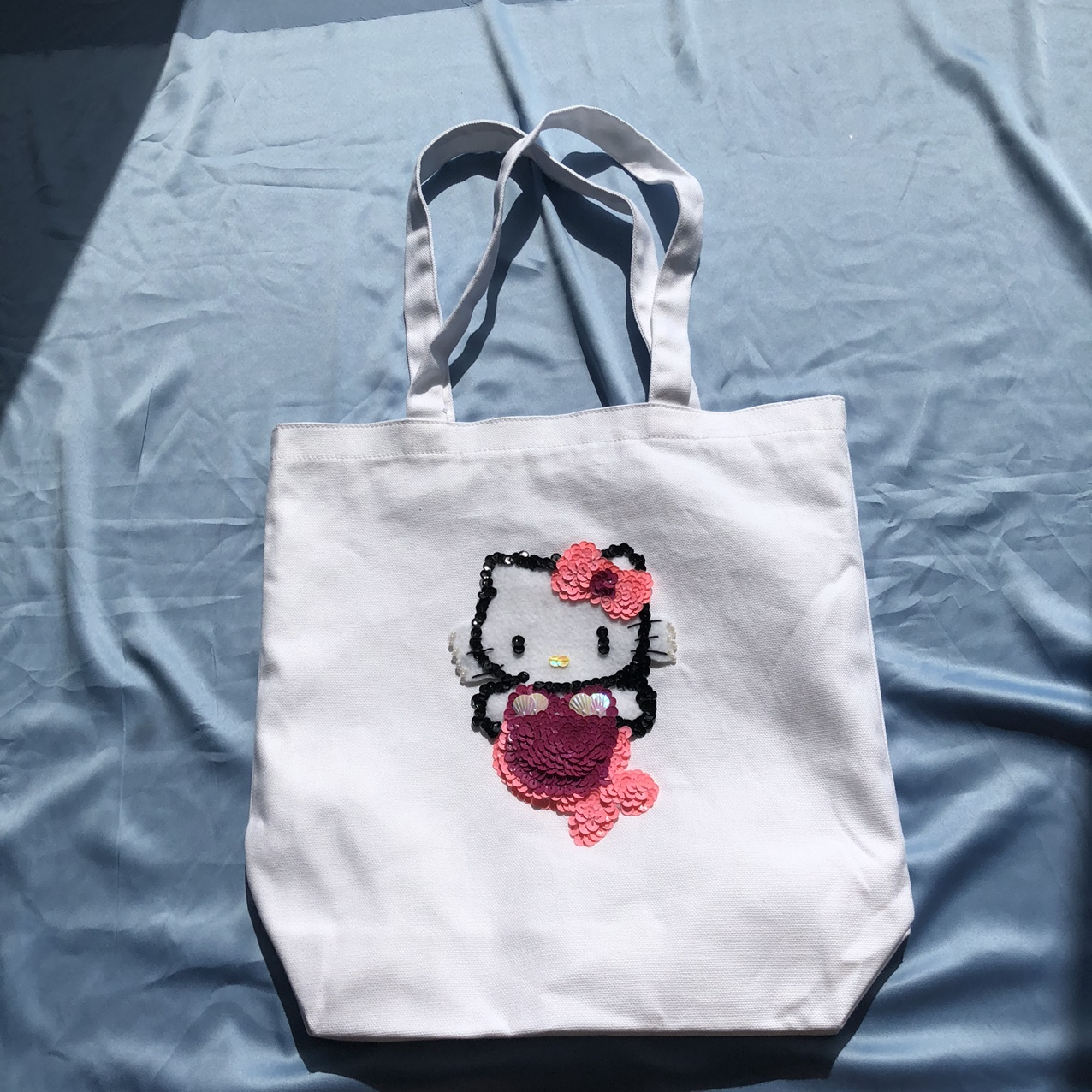 Product Image 1 - -Hello Kitty canvas tote bag