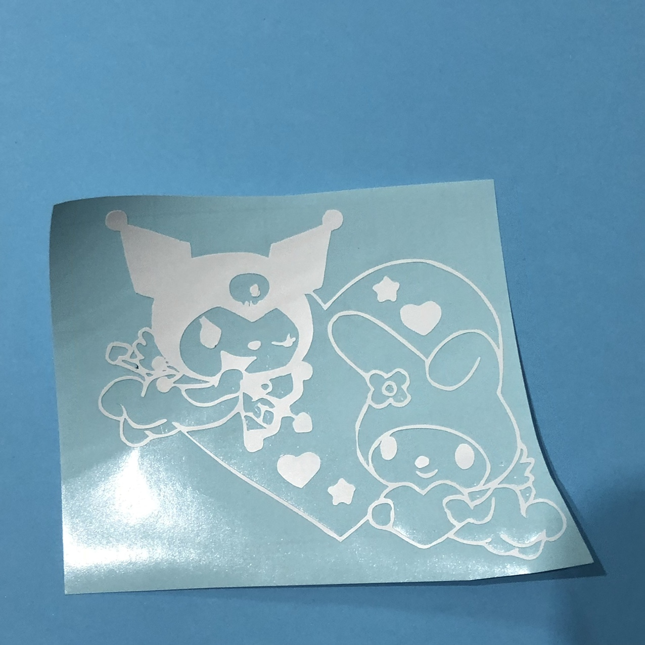 Product Image 1 - -Kuromi and My Melody decal -size: