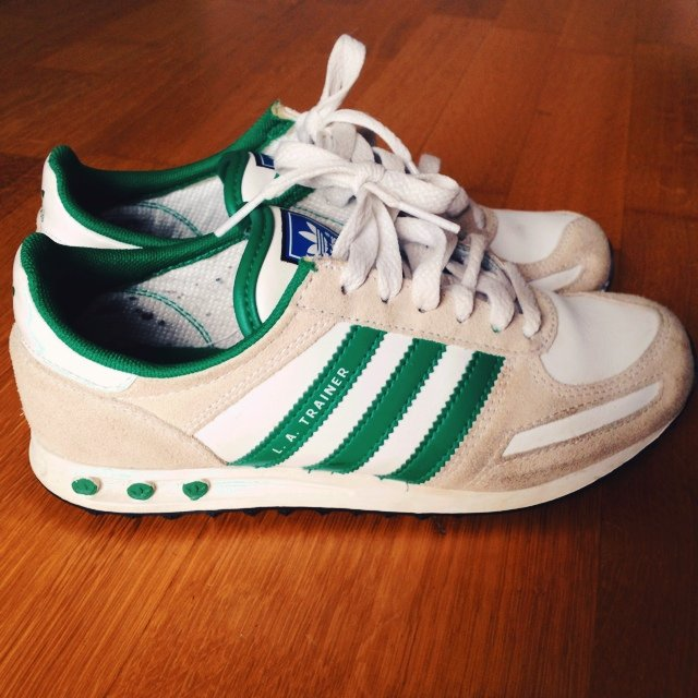 adidas trainer bianche e rosse