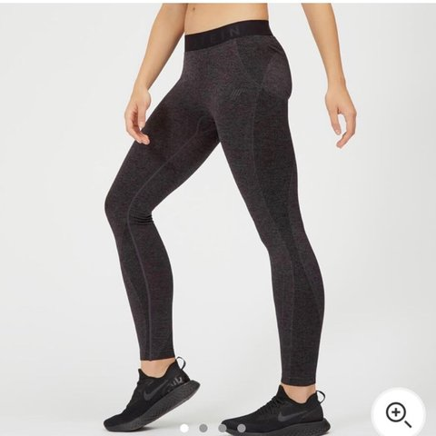 93c8142cddb39a Selling these dark grey my protein leggings, in perfect only - Depop