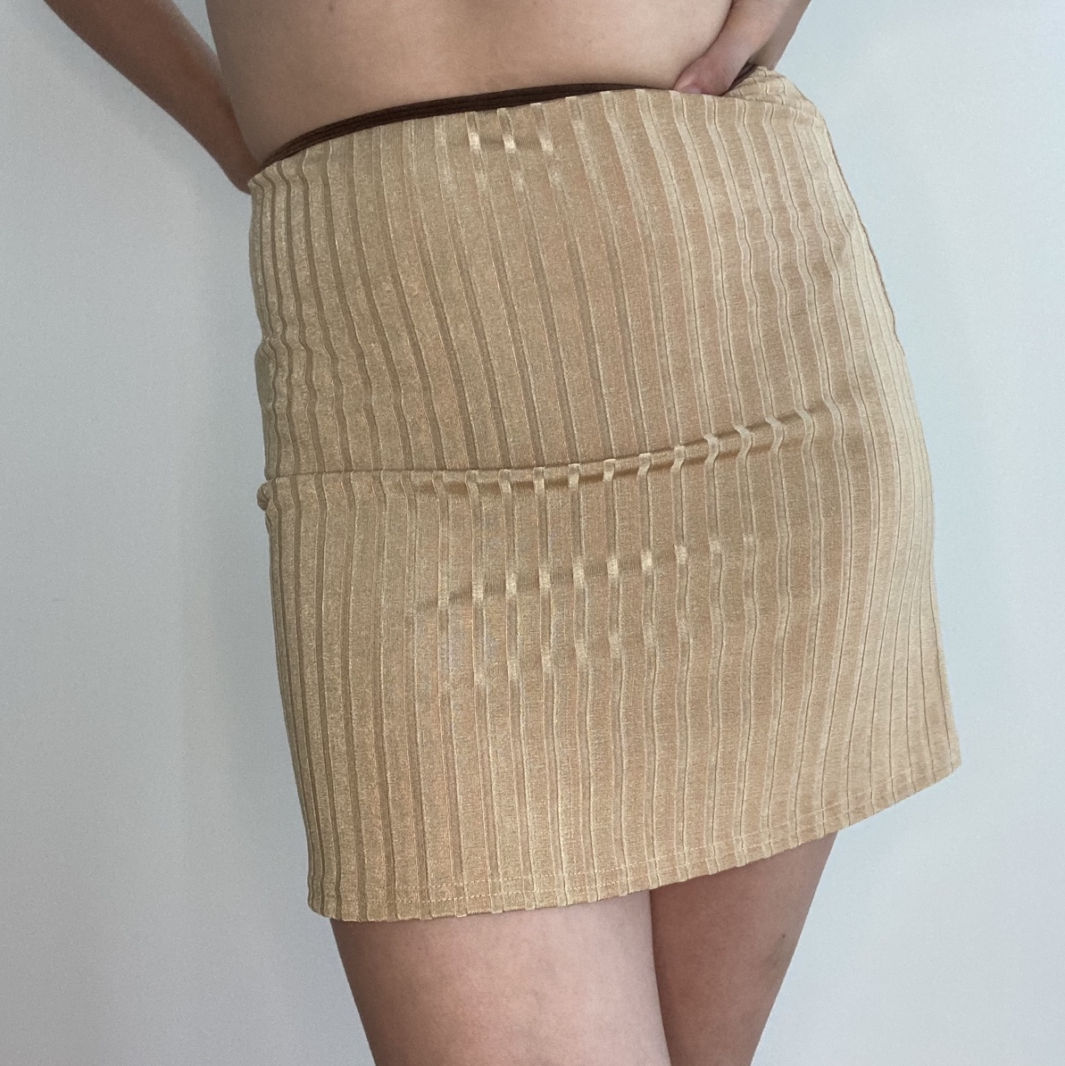 Product Image 1 - 🤎 HISSY FIT CARAMEL SKIRT,