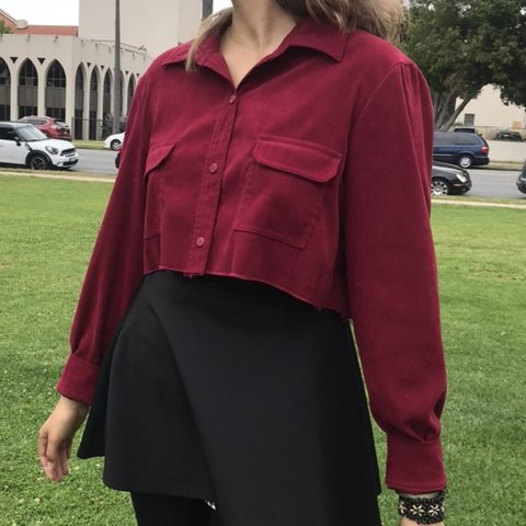 7ce56a23c35 @candyfucker666. 5 days ago. San Diego, United States. cute cropped  oversized button up, fits all sizes ...