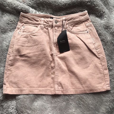 fb41e9a53186 @molliedenton16. 2 months ago. Newcastle Upon Tyne, United Kingdom. Pink  corduroy skirt from bershka brand new with tags ...