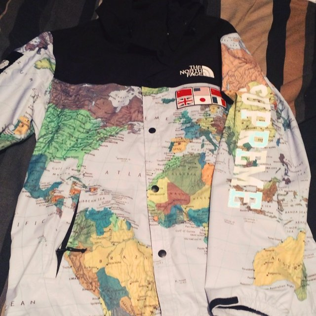 North face world map jacket supreme north face world map jacket gumiabroncs Image collections