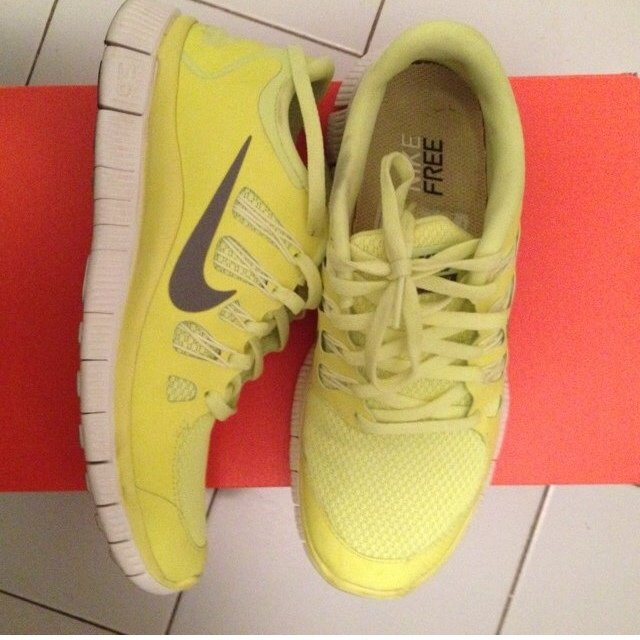 Nike Free Run Giallo