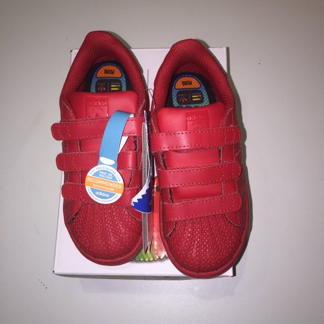 adidas super color rosse