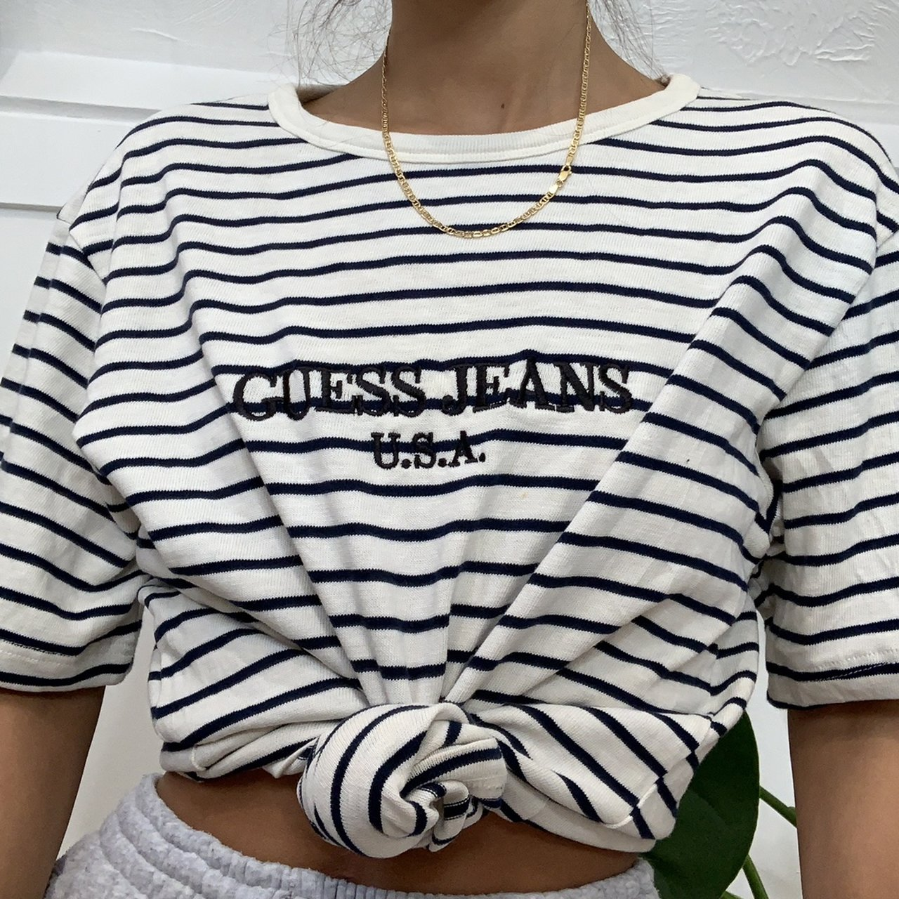 338f8e1e0a8e @sellynelly. 2 months ago. United Kingdom. 🍒VINTAGE 90s GUESS JEANS  OVERSIZED T SHIRT🍒