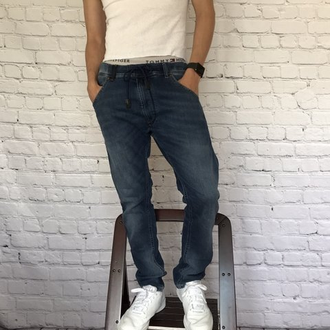 5704f82a @whoisjustincone. 5 days ago. Los Angeles, United States. Diesel krooley  jogger denim ...