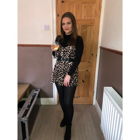 165b352e8924 @sophierevs101. 23 days ago. Darlington, United Kingdom. Leopard print slip  dress!!!