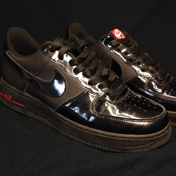 Nike Air Force Nere Lucide io riciclo.it